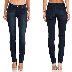 Paige Skyline Straight Jeans in Midlake Size 27